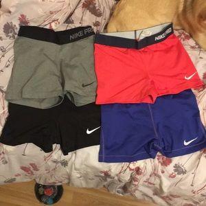 """Nike 3"""" training shorts bundle"""